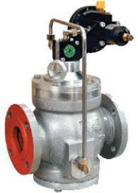Регулятор давления газа пилотного действия серии Aperval 101 (Pietro Fiorentini)