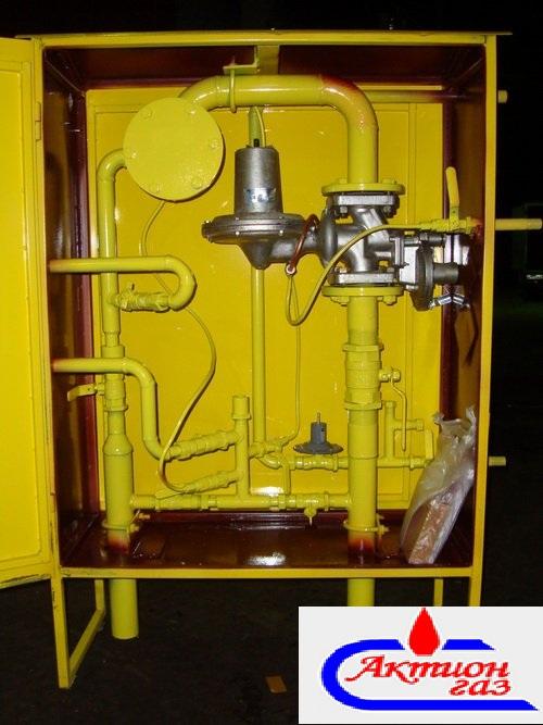 Газорегуляторный пункт ГРПШ-400-01 с обогревом